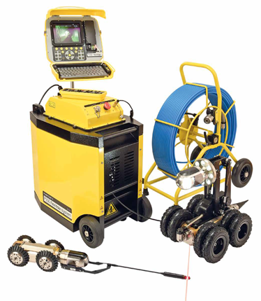 Radiodetection Pearpoint P350 flexitrax™ crawler system